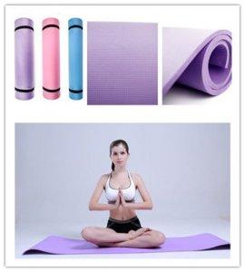 Yoga blue mat pic
